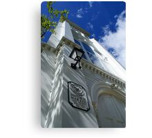 The old south church Canvas Print