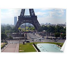 The Base of the Eiffel Tower Poster