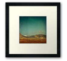 Somewhere Faraway Framed Print