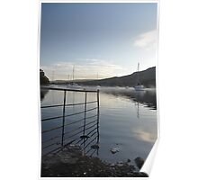 Mist on the lakes Poster