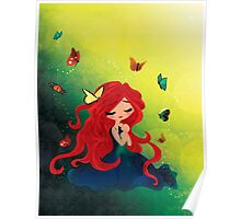 This Girl only Sleeps with Butterflies Poster