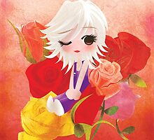 I've Been Kissed by a Rose by paperheroes