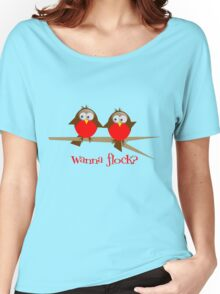 Wanna Flock? Women's Relaxed Fit T-Shirt