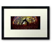 The Trolls Backyard Framed Print