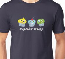 cupcake crazy - dark Unisex T-Shirt