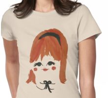Sweet Retro Redhead Womens Fitted T-Shirt