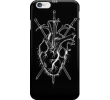 Three of Swords iPhone Case/Skin