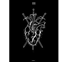 Three of Swords Photographic Print