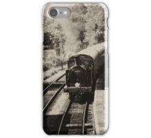 Swanage steam train  iPhone Case/Skin