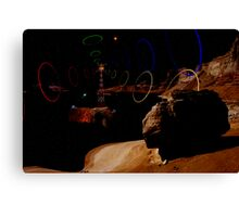 Signals From the Lagoon Asteroid Canvas Print