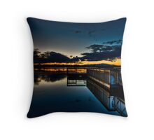 Reflecting Pool :: HDR Throw Pillow