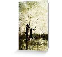 Rustic Lineage Greeting Card