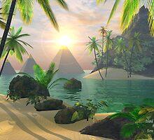 Island Dreams of a Waking Vision by Steve Davis