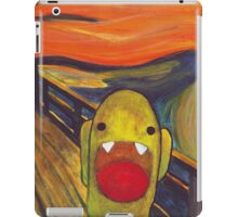 Monster Lisa (#002 of the Monster Imitates Art Collection) iPad Case/Skin