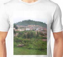 a desolate Nigeria landscape Unisex T-Shirt