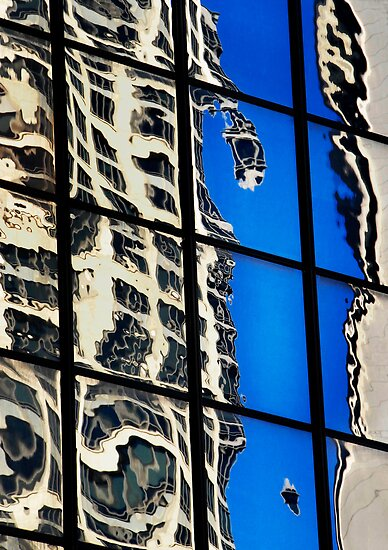 Sydney Building Reflection 40 by luvdusty