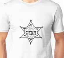 Heathers Sheriff Badge Unisex T-Shirt