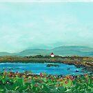 Galway Bay Light House by Joni Philbin
