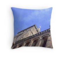 A Church in St. Andrews Throw Pillow
