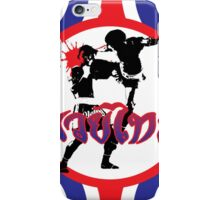 Muaythai Power iPhone Case/Skin