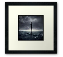 Loki, bringer of doom Framed Print