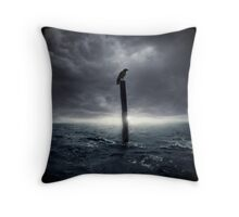 Loki, bringer of doom Throw Pillow