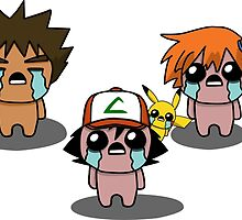The Binding Of Isaac/Pokémon Crossover - Kanto Group by Trick6