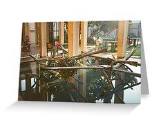 Sculpture Garden San Diego Greeting Card