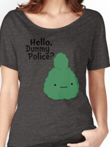 Dummy Police Women's Relaxed Fit T-Shirt