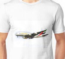 Emirates Airline A380 Art Unisex T-Shirt