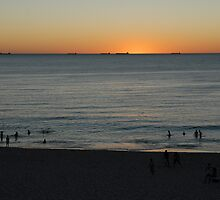 Sunset at Cottesloe by Phil Hirst