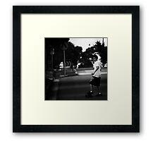 street spirit Framed Print