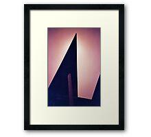 Slice Framed Print