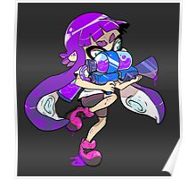 Squid Kid - Purple Poster