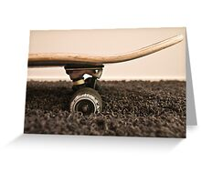 Roll On Greeting Card