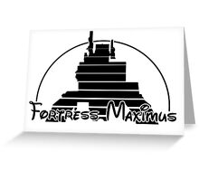The Magical World of Fortress Maximus Greeting Card