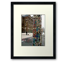 East Village NYC Framed Print