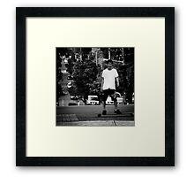 SKATEBOARDS!1!! Framed Print