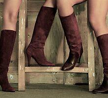 Boots by Etienne RUGGERI Artwork eRAW