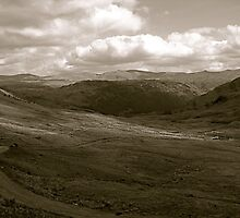 Lake District (4): East From Honister Pass by Ian Ker