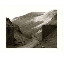 Lake District (7): Honister Pass to Buttermere Fell Art Print