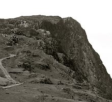 Lake District (8): Looking Up From Honister Pass by Ian Ker