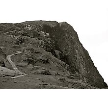 Lake District (8): Looking Up From Honister Pass Photographic Print