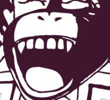 Chimpanzee That! Sticker
