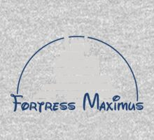 The Magical World of Fortress Maximus - G1 Colors One Piece - Long Sleeve