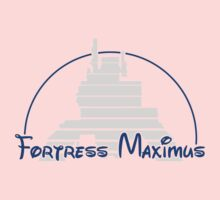 The Magical World of Fortress Maximus - G1 Colors One Piece - Short Sleeve
