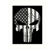 American Punisher - Subdued Art Print