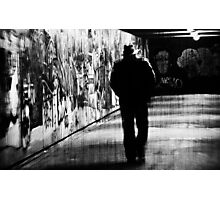 Mystery Man Photographic Print