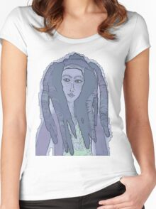 reggae 01 Women's Fitted Scoop T-Shirt