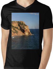 a wonderful Greece landscape Mens V-Neck T-Shirt
